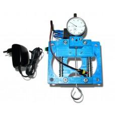 Urządzenie z czujnikiem analogowym do regulacji listwy wtryskiwaczy Valtek typ30